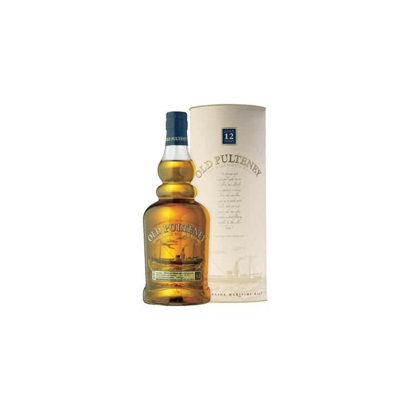 "WHISKY ""OLD PULTENEY"" 40% 12 year 0,70l"